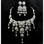 511126-101 Crystal Rhinestone Necklace Set