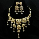 511126-201 Crystal Rhinestone Necklace Set
