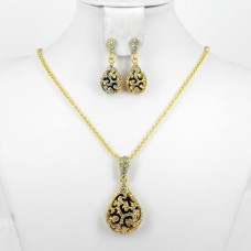 511163 Gold Necklace Set