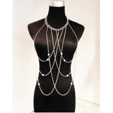 511215-101 Body Chain in Silver