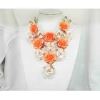 511217-119  Flower Shape Necklace