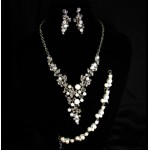 511218-101BC Necklace Set & Bracelet
