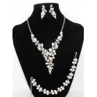 511218-101BC Necklace Set & Bracelet