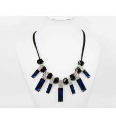 511256-115 Fashion Royal Blue Necklace