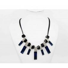 511256-115 Fashion Royal Blue Necklace