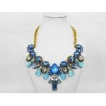511264-119  Mutli Blue  Necklace