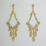 512182 Gold Strass Earring