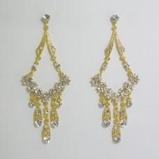 512182 Gold Strass Earring