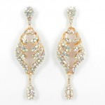 512368 Clear Crystal in Ross Gold Earring