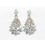 512300-101AB  Clear Crystal Earring