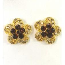 512326-208 Topaz Earring in Gold