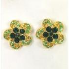 512326 Emerald Earring in Gold