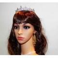 512346 purple crystal earring