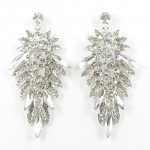 512365 Clear Crystal Earring in Silver