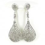 512382-101 Clear Crystal Earring