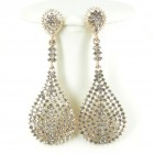 512382-201 Clear Crystal Earring in Gold