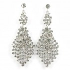 512383-101 Clear Crystal Earring