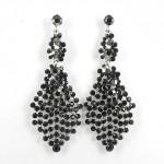 512383-102 Black Crystal Earring