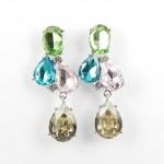 512385-119 Crystal Earring in Silver