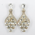 512391 Clear in GOLD Earring