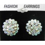 512396-101AB Clear Crystal Earring