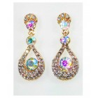 512399-201R  Rose Gold  Crystal Earring