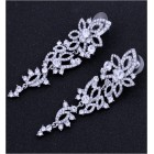 512404-101 Crystal Clear Earrings