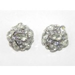 512407-101Clear Crystal Earring