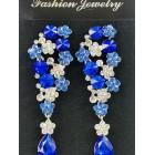 512434-115 Royal Blue Earring in Silver