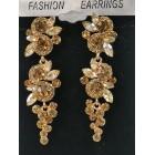512443-208 Topaz Crystal Earring
