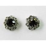 512505-129  Grey Earring in Silver
