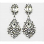 512523  Crystal Silver Earring