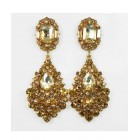 512523  Topaz Earring in Rose Gold