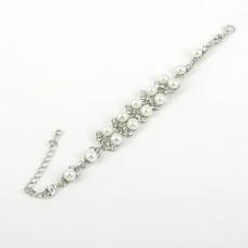 513095 Pearl Crystal Bracelet