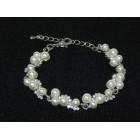 513101 Pearl Crystal Bracelet