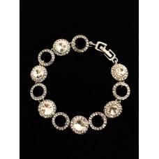 513102-1-208 Topaz Crystal  Bracelet in Gold