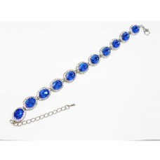 513103-104 Crystal Bracelet  in Blue