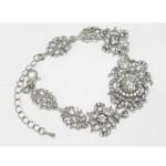 513104 Crystal Clear Bracelet in Silver