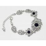 513104 Crystal Clear Bracelet in Navy