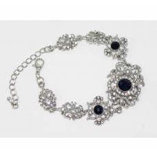 513104 Crystal Clear Bracelet in Navy