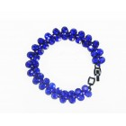 513113-215 Royal Blue Bracelet in Biack