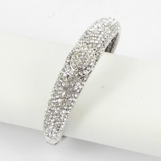 514159 clear crystal bangle