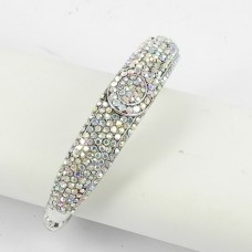 514159 clear AB crystal bangle