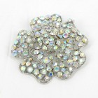 515065 Clear AB Silver Brooch