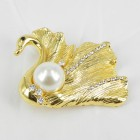 515069 Gold Brooch