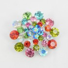 515072 Multi in Silver Brooch