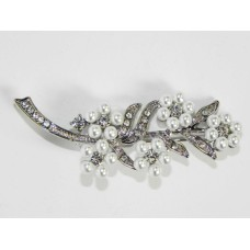 515098 -101  Silver Brooch with Pearl