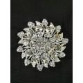 515111-101 Silver Brooch