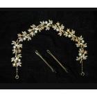 516103-401 Rose Gold Bridal Hair Piece