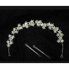 516104-101 Silver Bridal Hair Accessories